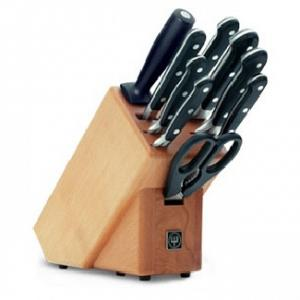 "Wusthof Knife Block Set ""Classic"" - 10pc"